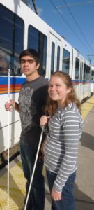 Light Rail takes students easily and efficiently around Denver