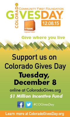Colorado Gives Day ad for December 8, 2015