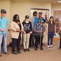 ITP Student Choir Caroling at the Senior Party