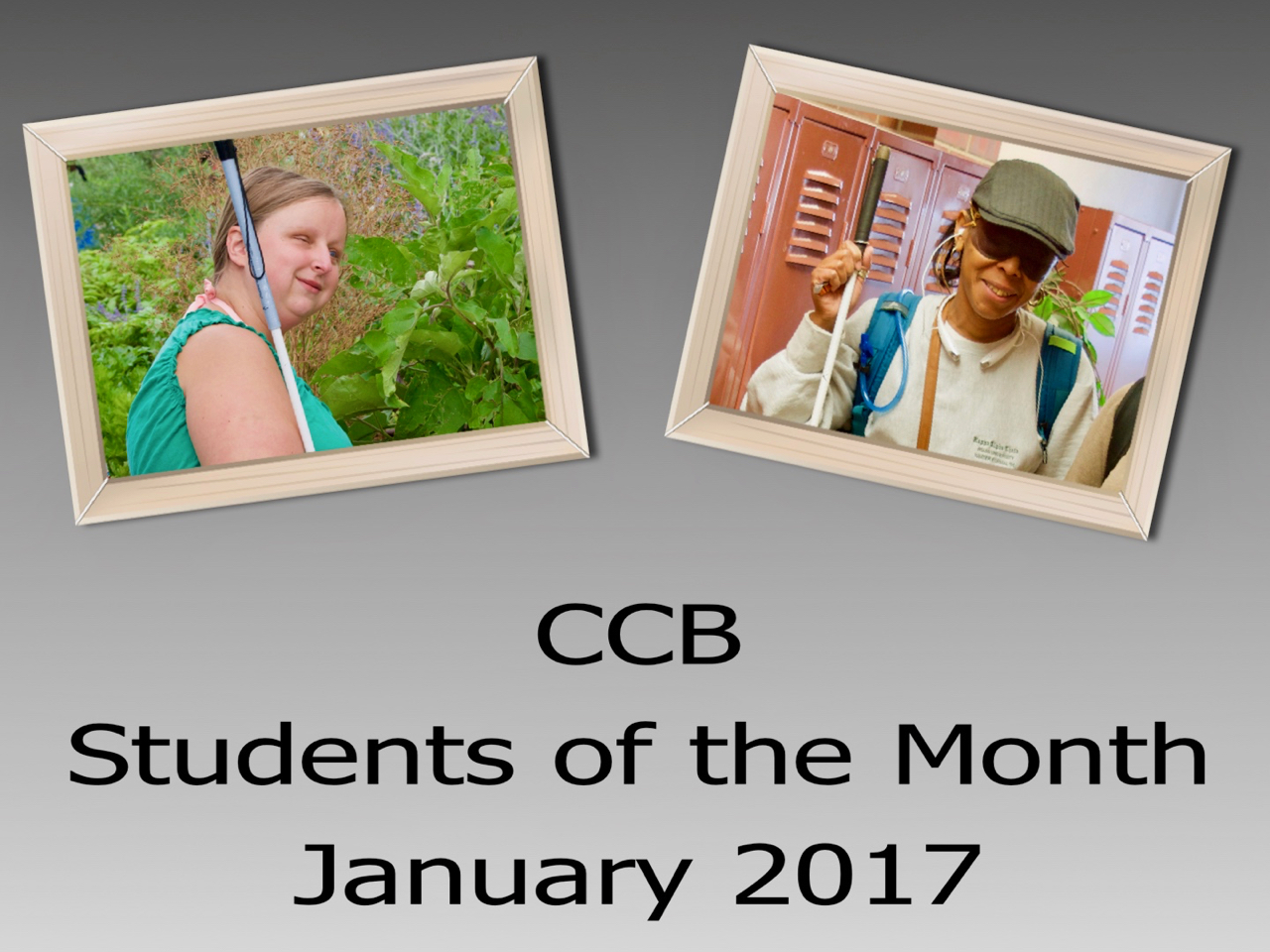 Announcing our first Students of the Month – January 2017!