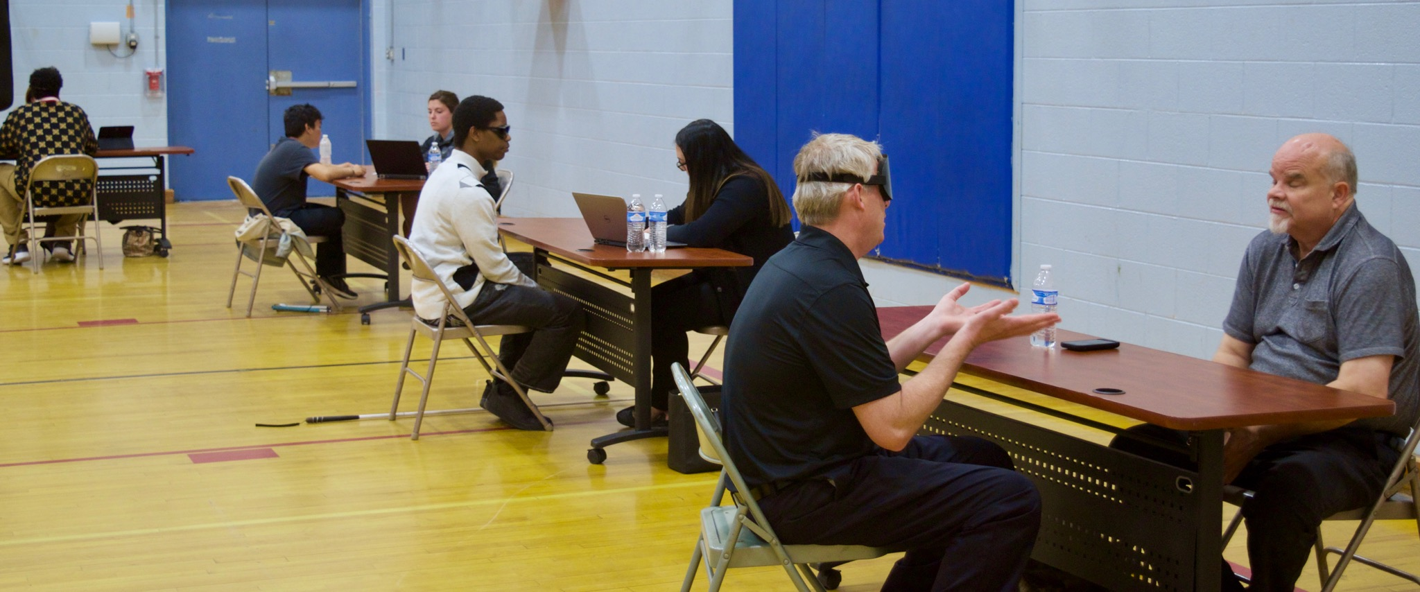 Job Seekers participate in Mock Interviews