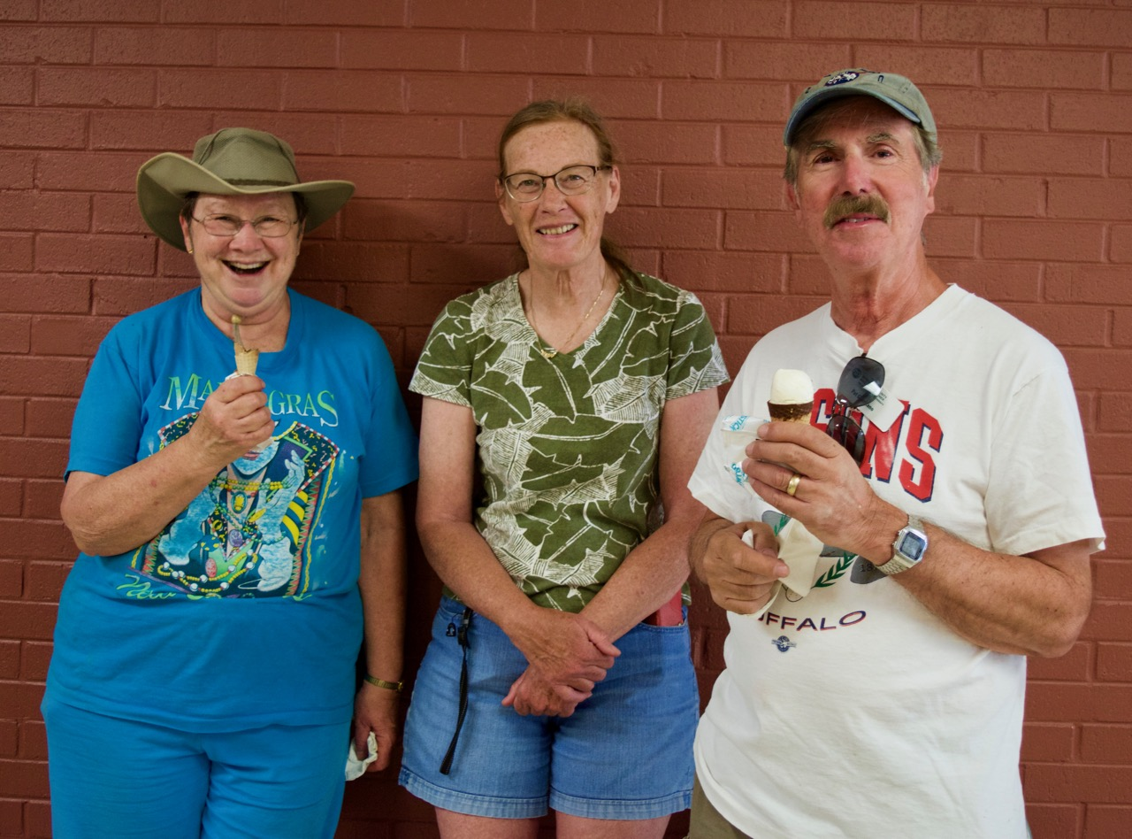 Master Gardeners enjoying Ice Cream