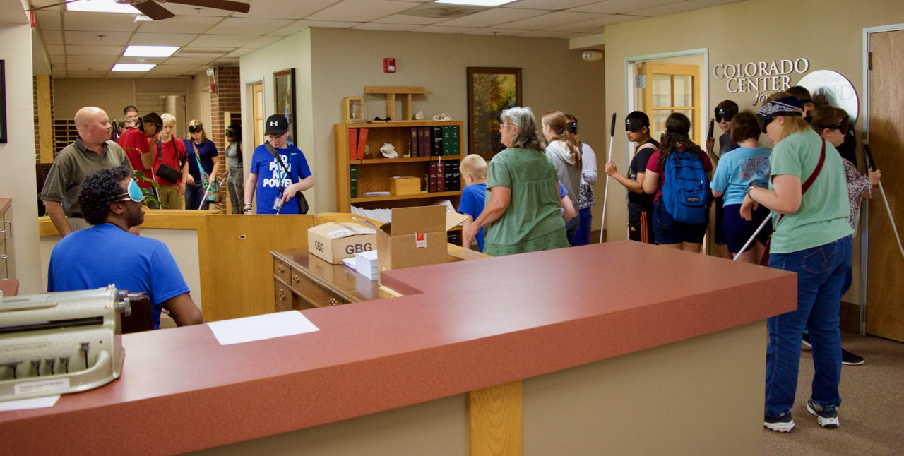 The halls were full of new summer students from ages 5 to 19 exploring the Center on their first day.