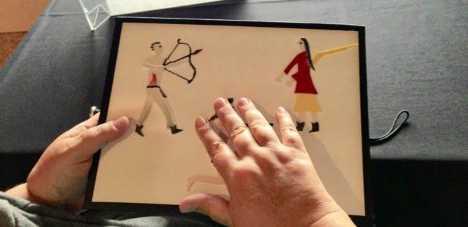 Tactile art at the Denver Art Museum