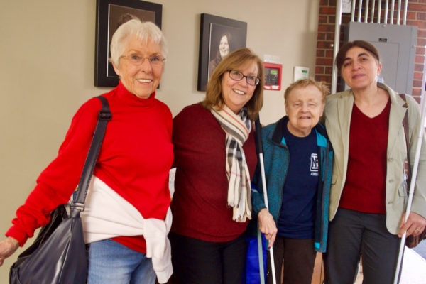Seniors - Dee, Duncan, Diane, Anahit
