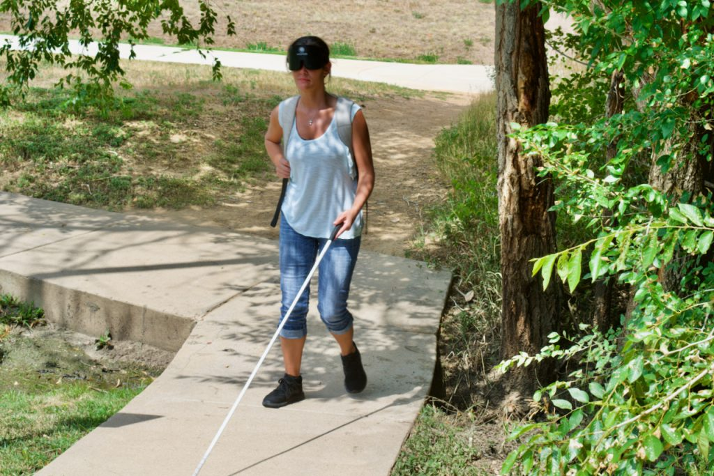 Blindness Skills & Confidence More Necessary Than Ever  #ColoradoGives