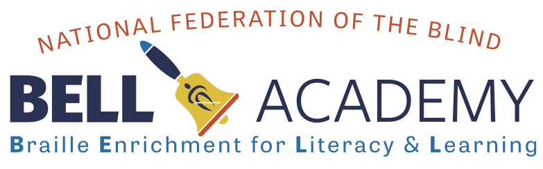 National Federation of the Blind BELL Academy Braille Enrichment for Literacy & Learning Logo